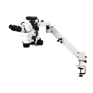 2.0 Megapixels 3.44X/6.25X/10.94X/18.75X/34.38X CMOS LED Coaxial Reflection Light Pneumatic Arm Trinocular Parallel Multiple Power Operation Stereo Microscope SM51030133