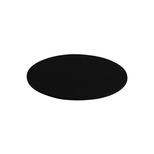 100mm Black Microscope Stage Plate (4 inch Diameter)