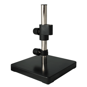 Microscope Post Stand, 384mm Center Post, Extra Heavy Base