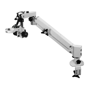 Surgical Microscope Pneumatic Arm Clamp Stand, 76mm Focus Rack