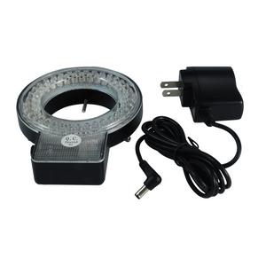 72 LED Microscope Ring Light with Four-Zone Quadrant Control Diameter 61mm 6W ML19241131