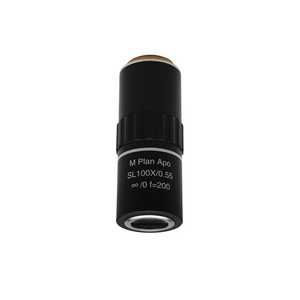 Apochromatic Metallurgical Microscope Objective Lens Working Distance 20.1mm MT06033641 BoliOptics 50X Infinity-Corrected Super-Long Working Distance M Plan Apo HL