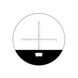 10mm/100 Div  Crosshair Scale Reticle ( Dia. 22mm) RT20104143