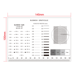 140mm/560 Div Multiple Scale Film Ruler RT02420613