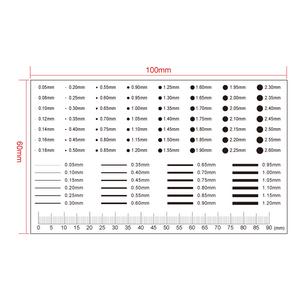 90mm/180 Div Comparison Test Gauge RT02420411