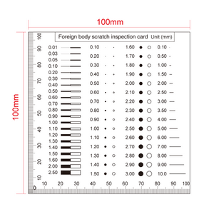 100mm/200 Div Comparison Test Gauge RT02420413