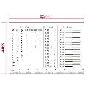 80mm/160 Div Comparison Test Gauge RT02420601