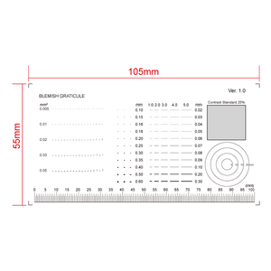 100mm/200 Div Comparison Test Gauge RT02420603
