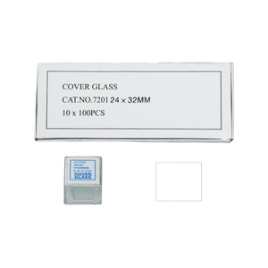 1,000 Glass Cover Slips (24x32mm Rectangular) for Microscope Slides