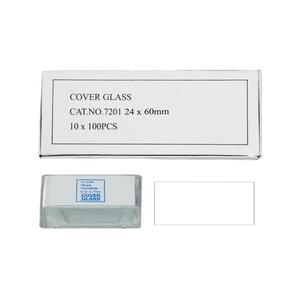 500 Glass Cover Slips (24x60mm Rectangular) for Microscope Slides