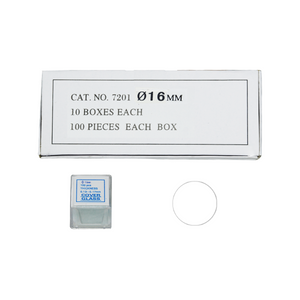 1,000 Glass Cover Slips (16mm Round Circle) for Microscope Slides