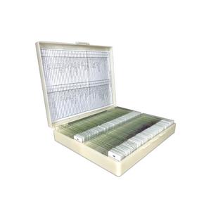 200 Prepared Microscope Slides Specimen Set, Plant Animal Human Anatomy Cells