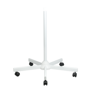 Rolling Floor Stand for Magnifying Lamp, Heavy Duty (5 Spokes with Caster Wheels)