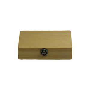 14.5x10.5x3.5cm 30pc Slide Wood Box (30pc) SL39801002