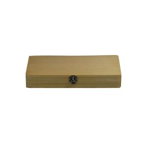 22.5x10.5x3.5cm 50pc Slide Wood Box (50pc) SL39801003