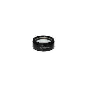 0.7X Infinity-Corrected Achromatic Microscope Objective Lens Working Distance 135mm