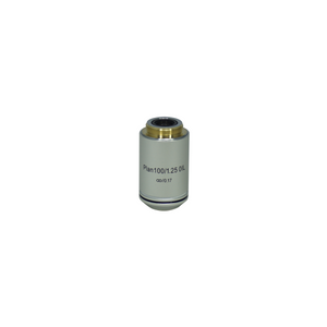 Objective Working Distance 0.12mm 100X Infinity Plan Achromatic Objective (Oil) Nexcope-NE610-Objective-100-Oil-A
