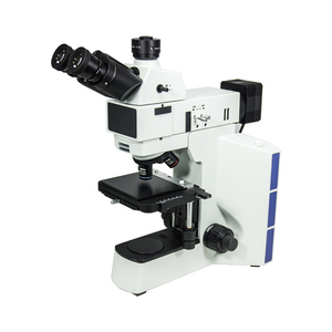 50-500X LED Reflection Light XY Stage Travel Distance 75x40mm Trinocular Metallurgical Microscope MT05110323