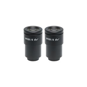 WF 30X Widefield Microscope Eyepieces, High Eyepoint, 30mm, FOV 9mm (Pair)