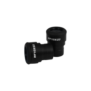WF 10X Widefield Focusable Microscope Eyepieces, High Eyepoint, 30mm, FOV 23mm, Adjustable Diopter (Pair)