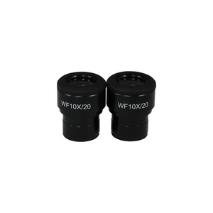 WF 10X Widefield Focusable Microscope Eyepieces, High Eyepoint, 30mm, FOV 20mm, Adjustable Diopter (Pair) SZ04013221