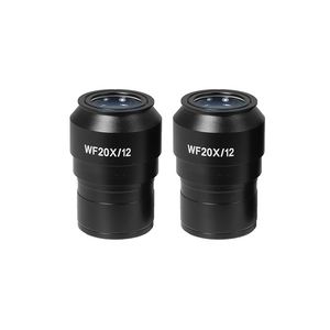 WF 20X Widefield Focusable Microscope Eyepieces, High Eyepoint, 30mm, FOV 12mm, Adjustable Diopter (Pair) SZ09013621