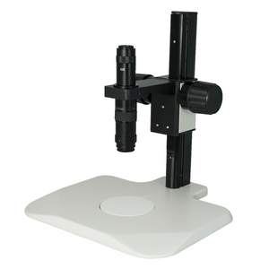 0.35X-2.25X Industrial Inspection Video Zoom Microscope, Track Stand