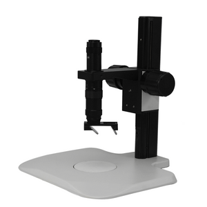 0.35X-2.25X 3D Industrial Inspection Video Zoom Microscope, Track Stand + 35° Objective Angle Converter