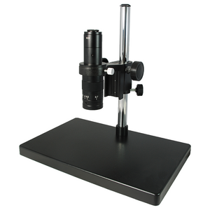0.35X-2.25X Industrial Inspection Video Zoom Microscope, Post Stand 280mm
