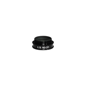 0.3X Achromatic Microscope Objective Lens for MZ0801 Video Zoom Microscope 20.3mm, 4/5in.