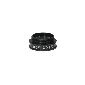 0.5X Achromatic Microscope Objective Lens for MZ0801 Video Zoom Microscope 20.3mm, 4/5in.