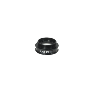 0.75X Achromatic Microscope Objective Lens for MZ0801 Video Zoom Microscope 20.3mm, 4/5in.