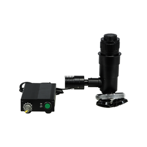 1.3m 1X 3W 4/5″x1/36″/M26x1/36″ LED Light Adjustable Triple (3) Holes 1X Fixed Power Video Microscope Body with Nosepiece and Coaxial Illuminator MZ37021111