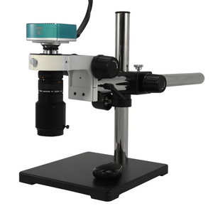 6X Industrial Inspection Video Zoom Microscope, Boom Stand + HDMI Camera