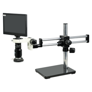 1-6X 2.0 Megapixels CMOS LED Light Dual Arm Stand Video Zoom Microscope MZ02110502