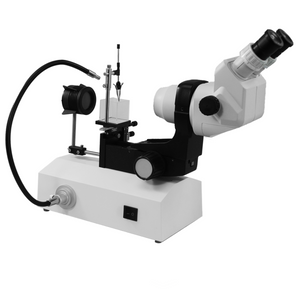 6.7X-45X Professional Jewelry Gem Stereo Zoom Microscope, LED Light, Horizontal Oil-Immersed Gem Stand