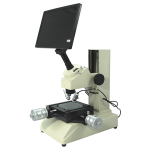 Toolmakers Microscope 30X 93.6X LED Industrial Inspection Measuring + LCD Digital Camera