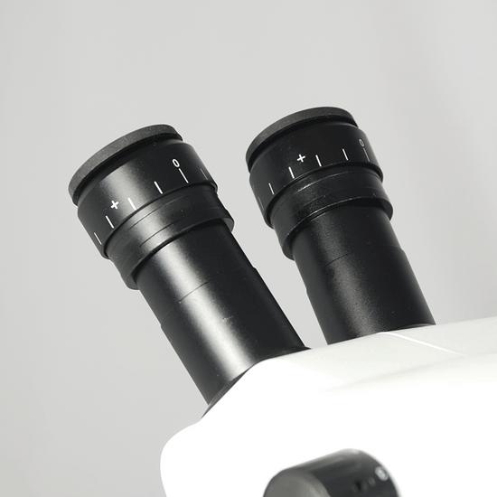 8X-50X Widefield Zoom Stereo Microscope, Binocular, Track Stand (Track Length 300mm) Fan Shaped Base