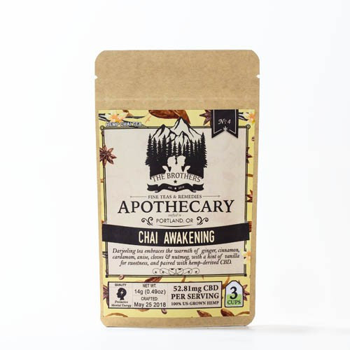 Brothers Apothecary Infused CBD Tea