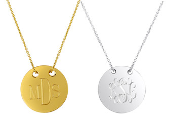 Monogrammed Sycamore Necklace