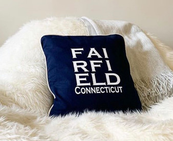 Personalized Town Pillow