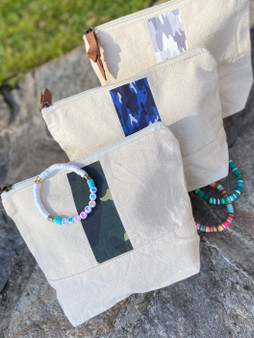 Holiday Camoflage Bag and Bracelet Set