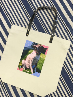 Morgan Draw Your Own Canvas Tote
