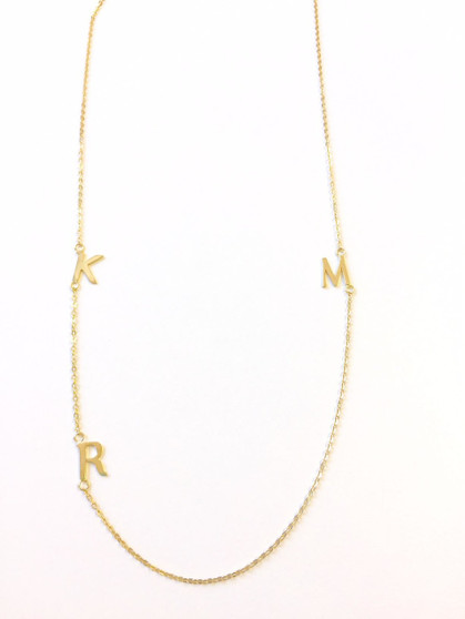 Personalized Initial Necklace (1-5 Letters)