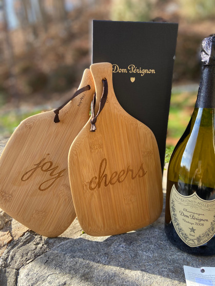 Engraved Small Wood Cheese Board