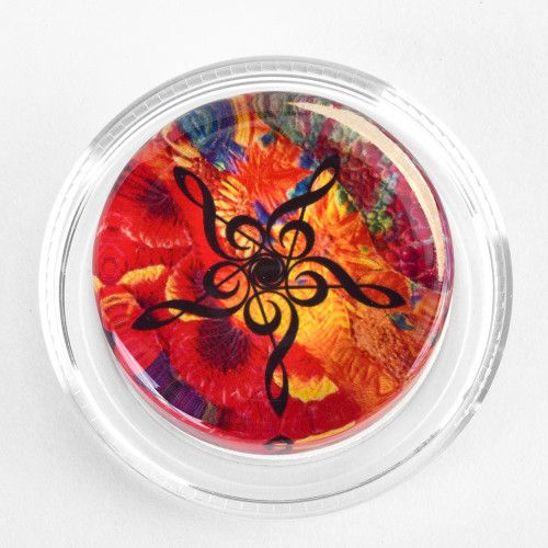 Magic Rosin- Groovy Kaleidoscope Treble Clef (GKT)