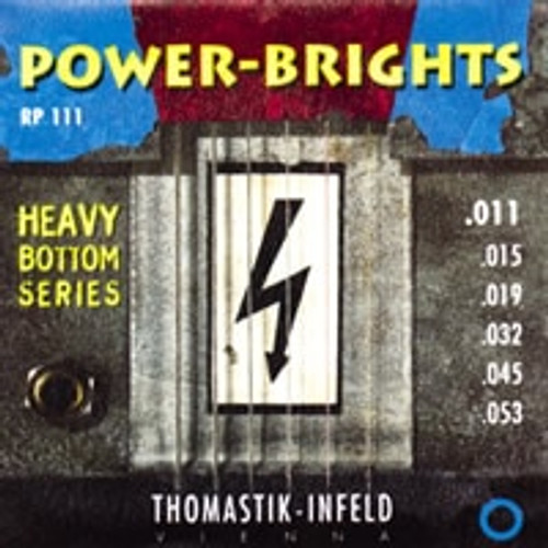RP111 - Power-Brights Heavy Bottom Guitar Set