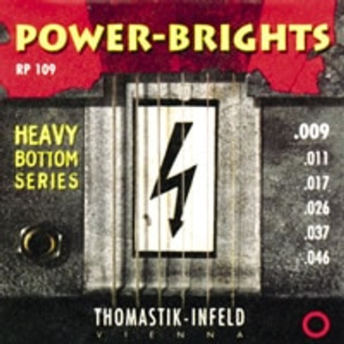 RP109 - Power-Brights Heavy Bottom Guitar Set