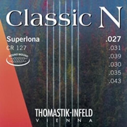 CF128 - Classic N Guitar Set, Flat Wound