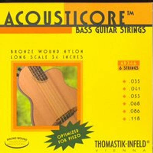 AB346 - Acousticore Bass 6-String Set